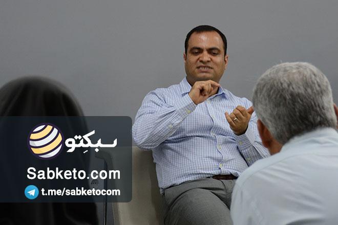 ناصر غانم زاده ; خوبه آدم چیزهایی را که میتونه ببینه نگاه کنه!